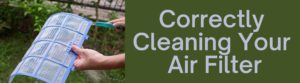 Correctly Cleaning Your Air Filter
